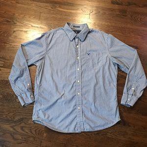 AE button down shirt L